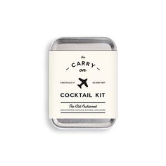 Old Fashioned Carry-On Cocktail Kit | Old Fashioned ingredients | UncommonGoods