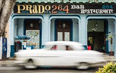 Why should you visit Havana, Cuba? From it's beautiful colonial architecture to the classic American cars, Cuba has a lot to offer the most curious traveler. Let's explore this beautiful old town in all its Caribbean splendor! Vintage Architecture, Colonial Architecture, Havana Cuba, Bar, Old Town, The Good Place, Caribbean, Travel Photography, City