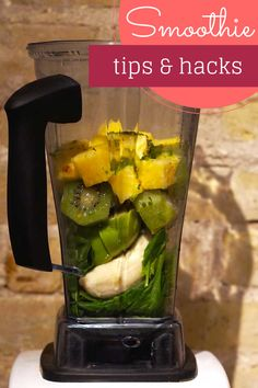Trying to find Gluten-Free breakfast alternatives? Go for a smoothie!