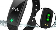 DENISY Fitness Trackers Wireless Activity Smart Bracelet with Heart Rate Monitors for IOS Android Activity Watch Wristband. – Health and Fitness Android Activity, Best Fitness Tracker, Wireless Security System, Android Watch, Fitness Bracelet, Smart Bracelet, Fitness Watch, Heart Rate Monitor