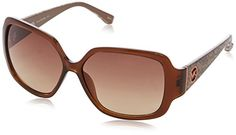 457ab6cfdfc Michael Kors Sunglasses M2748S Zuma Frame Crystal Brown Lens Brown Gradient  -- Read more reviews
