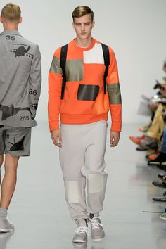 Christopher Raeburn - Spring/Summer 2015 - London Fashion Week #christopherraeburn #londonfashionweek #summer2015 #runway #essentialhomme