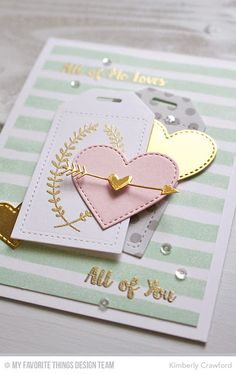 For the Love of Paper: all of me: MFT Stamps January Release Replay