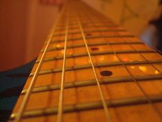 my guitar with dirt :P