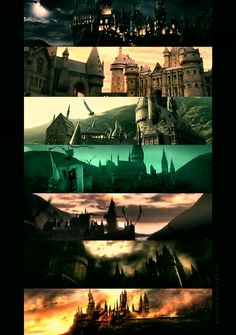Hogwarts from beginning to end. It may have changed a bit, but it's beautiful from beginning to end.