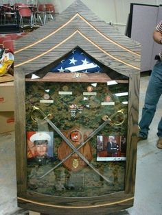 Shadow box ideas like military shadow box ideas, diy shadow box ideas, shadow box frame ideas, newbron shadow box, and etc Shadow Box Display Case, Diy Shadow Box, Coin Display, Shadow Box Frames, Military Retirement Parties, Retirement Gifts, Retirement Ideas, Military Box, Military Shadow Box
