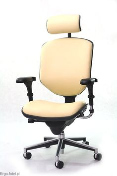 Fotel biurowy Ergomax Enjoy - skóra