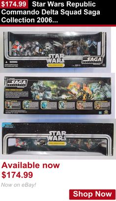 Telescope Filters: Star Wars Republic Commando Delta Squad Saga Collection 2006 Action Figure 7Pk BUY IT NOW ONLY: $174.99