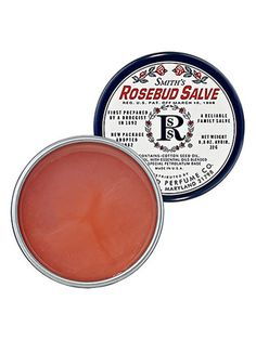 Rosebud Salve - I use it for lips, cuticles, rough patches, allergic skin reactions, rashes, burns, etc.