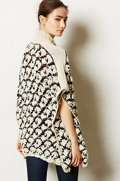 Janca Cardigan - anthropologie.com - love love love the texture on this!