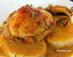 Sepia con patatas: http://www.recetascomidas.com/recetas-de/sepia-con-patatas - #recetas #recipes