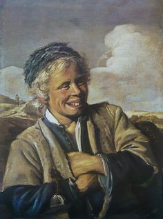 Laughing Fisherboy, 1627, Frans Hals