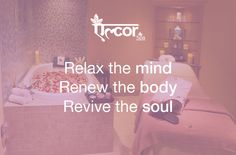 Benefits of #Massage : - Relax the Mind - Renew the Body - Revive the Soul