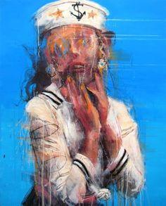 "Saatchi Art Artist Kim Byungkwan; Painting, ""X-report#01 (sold)"" #art"