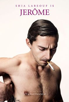 """Shia LaBeouf in Lars Von Trier's """"Nymphomaniac""""; due out 25 December 2013."""