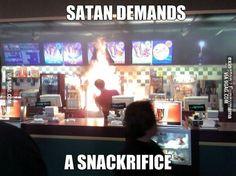 Summoning Demons in McDonald's