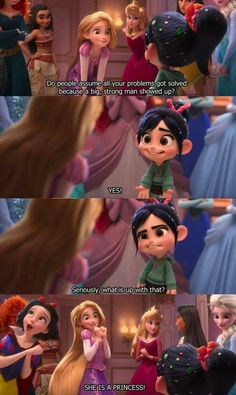 Disney princess scene in Wreck It Ralph I can't wait for this movie Disney Pixar, Walt Disney, Disney Facts, Disney Animation, Disney And Dreamworks, Disney Love, Punk Disney, Disney Characters, Funny Disney Jokes