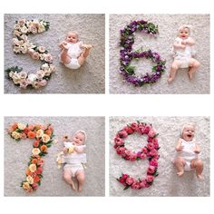 Beautiful baby monthly pictures by jldesignsandevents The Babys, Baby Kind, My Baby Girl, Baby Love, Baby Baby, Newborn Pictures, Baby Pictures, Little Babies, Cute Babies