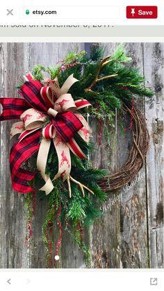 christmas wreath xmas wreaths winter wreaths rustic christmas christmas ideas christmas 2017