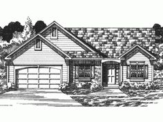 Build your ideal home with this Ranch house plan with 3 bedrooms(s), 2 bathroom(s), 1 story, and 1473 total square feet from Eplans exclusive assortment of house plans.