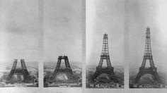 31 mars 1889 : le jour où la tour Eiffel a été inaugurée. [AFP]