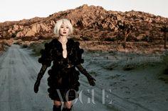 Bae Doo-na // Vogue Korea // December 2012