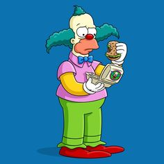 Simpsons Krusty The Clown Cigarettes Simpson Wallpaper Iphone, Cartoon Wallpaper, Futurama, The Simpsons, Desenho New School, Krusty The Clown, Simpsons Drawings, Free Poster Printables, Simpsons Characters