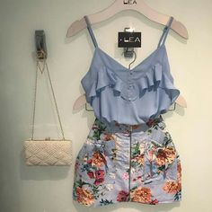 Summer Fashion Outfits, Cute Summer Outfits, Chic Outfits, Spring Outfits, Love Fashion, Fashion Dresses, Womens Fashion, Western Outfits, Casual Looks
