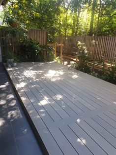 Another stunning deck! This composite deck has no screw joins and has added a stunning outdoor space with no maintenance required! Outdoor Spaces, Outdoor Living, Outdoor Decor, Composite Decking, Gold Coast, Past, Landscape, Life, Projects