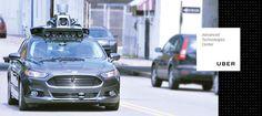 Uber Car: el vehículo autónomo que ofrecerá servicio de VTC dentro de pocos años   Un vehículo basado en el modelo del Ford Fusion #ubercar #fordfusion #vehiculoautonomo #inteligenciaartificial