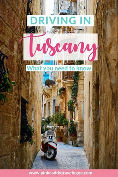 Here's everything you need to know about driving in Tuscany! Including how to pump gas, what the crazy road signs means, and driving rules you never knew existed. European Destination, European Travel, Italy Travel Tips, Travel Europe, Things To Do In Italy, Road Trip Essentials, Visit Italy, Travelogue, Plan Your Trip