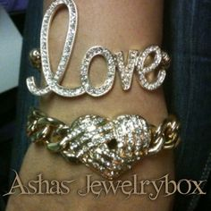 Arm Candy Instock gold and silver#ashasjewelrybox #armcandy #armswagg #accesories #jewelry #bracelets - @ashasjewelrybox- #webstagram
