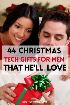 44 Cool Tech Gifts For Men | Boys will always love their toys no matter what age. That is why we compiled some of the best tech gadgets for the perfect tech gift for him. Do you need christmas gift ideas for dad? Check out our list of these cool gadgets and he'll love it whether he's a techie or not. So if he's into technology then this list of our 44 amazing tech gifts is the perfect guide. #techgiftsforhim #techgifts #giftideas #cooltech Tech Gifts For Dad, Cool Tech Gifts, Technology Design, Science And Technology, Cool Tech Gadgets, Tech Hacks, New Inventions, Web Development, Tech Accessories