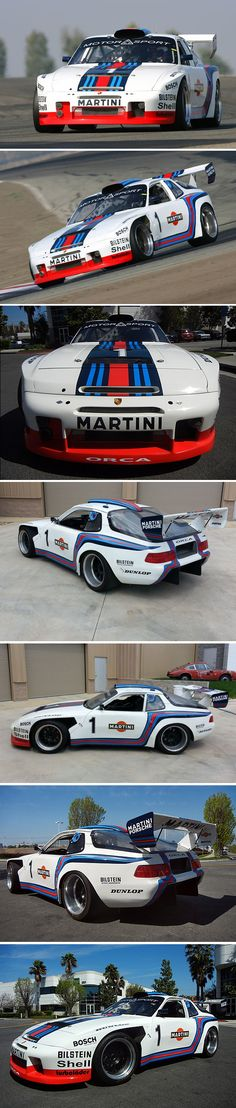 1986 PORSCHE 944 TURBO ORCA RACE CAR