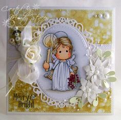 Embellishing Fun....can use any tilda...love the card design