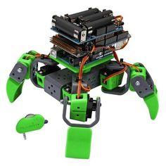 Robot modulaire avec SHIELDs Arduino pour créer une personnaliser un robot à base d'Arduino