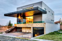 Love that house's modern architecture. #Dream #House