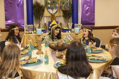 """""""Jewel of the Nile"""" Egyptian Spa Party styled by Banner Events.  Printables : Anders Ruff Custom Designs"""