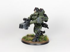 Advanced Tau Tactica :: View topic - Persifal's cadre, Fal'Shia sept - drones WIP