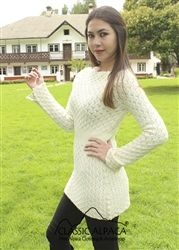 One of our favorites! Cute with leggings or jeans! #alpaca #apparel #sweaterdress