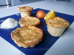 Tarta de crema de coco o tartaletas , receta casera. http://golosolandia.blogspot.com.es/2013/05/tarta-de-crema-de-coco-tartaletas-receta-casera.html