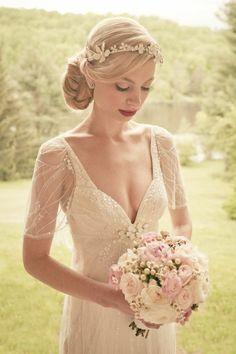 La robe de mariée vintage - les meilleures variantes