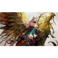 Priestess of Life Play Mat MTG WOW Yu Gi Oh Pokemon Playmat HCD Supplies