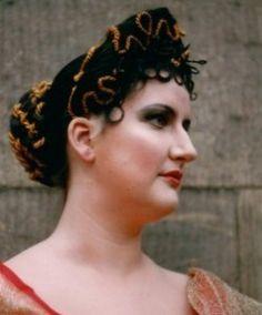 römische Frisur