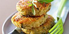 GALETTE DE QUINOA AU PARMESAN (Pour 4 P : 150 g de quinoa • 2 œufs • 1 c à s de…