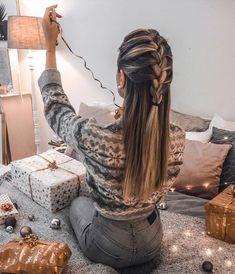 Cute Hairstyle Ideas for Long Hair - Fashion Trend . 12 Cute Hairstyle Ideas for Long Hair - Fashion Trend 12 Cute Hairstyle Ideas for Long Hair - Fashion Trend Casual Hairstyles For Long Hair, Long Face Hairstyles, Chic Hairstyles, Box Braids Hairstyles, Trending Hairstyles, Braids For Long Hair, Everyday Hairstyles, Pretty Hairstyles, Hairstyle Ideas