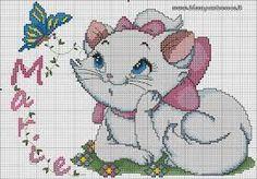 Resultado de imagen para aristocats cross stitch
