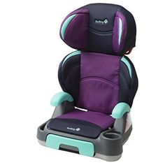 Safety 1st Backed Store 'n Go Booster Car Seat Plumtastic