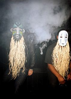 love the tribal masks. See yah at Lollapalooza 2012 Music Do, Music Film, Music Albums, Music Is Life, Good Music, Festivals In August, Unknown Pleasures, Music Album Covers, Jungle Party