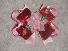 Valentine's Day Flower Bow